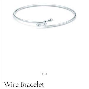 Tiffany & Co. Sterling Silver Wire Bracelet